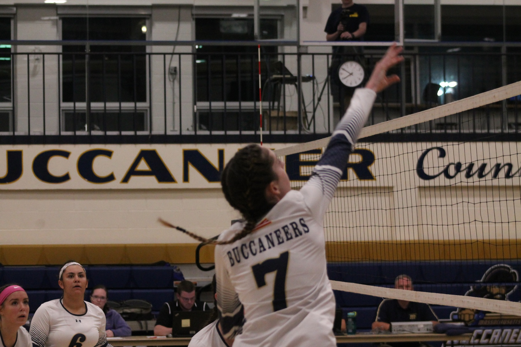 Volleyball Drops Two at Eastern Nazarene in Tri-Match