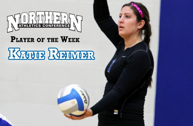 Reimer Collects NAC Player of the Week Honors