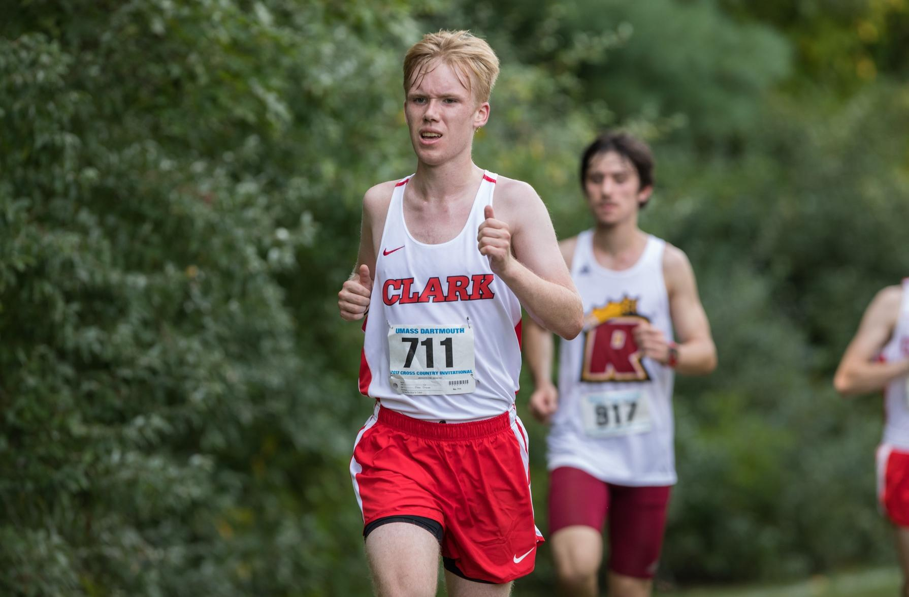 Men's Cross Country Runs at James Earley Invitational