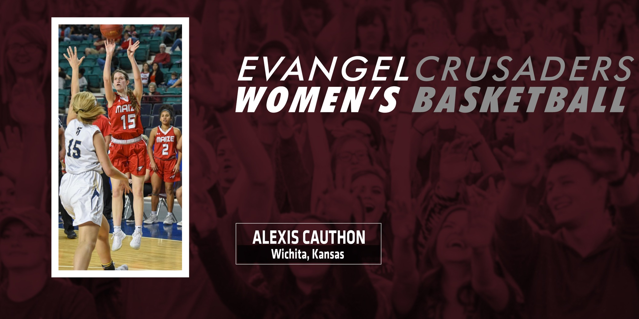 Evangel Women's Hoops Adds Maize, Kansas Commit Alexis Cauthon