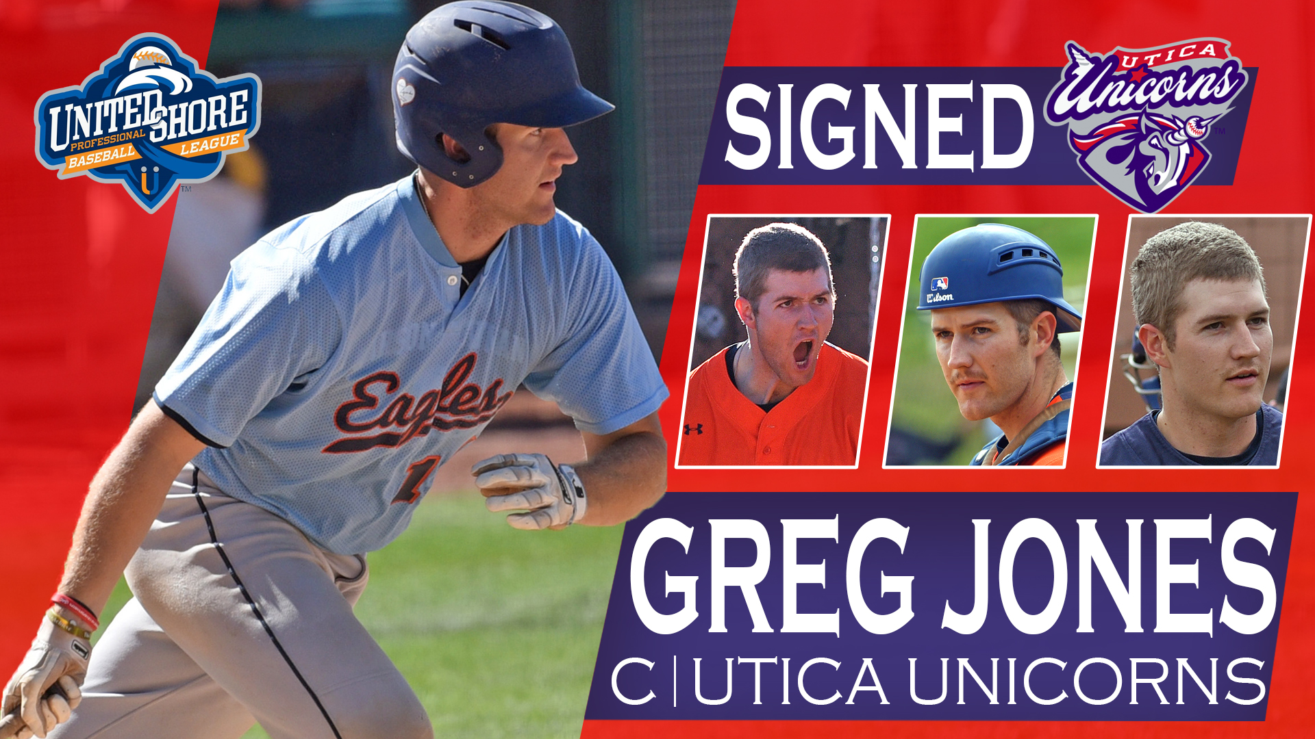 Jones signs professional contract with Utica Unicorns