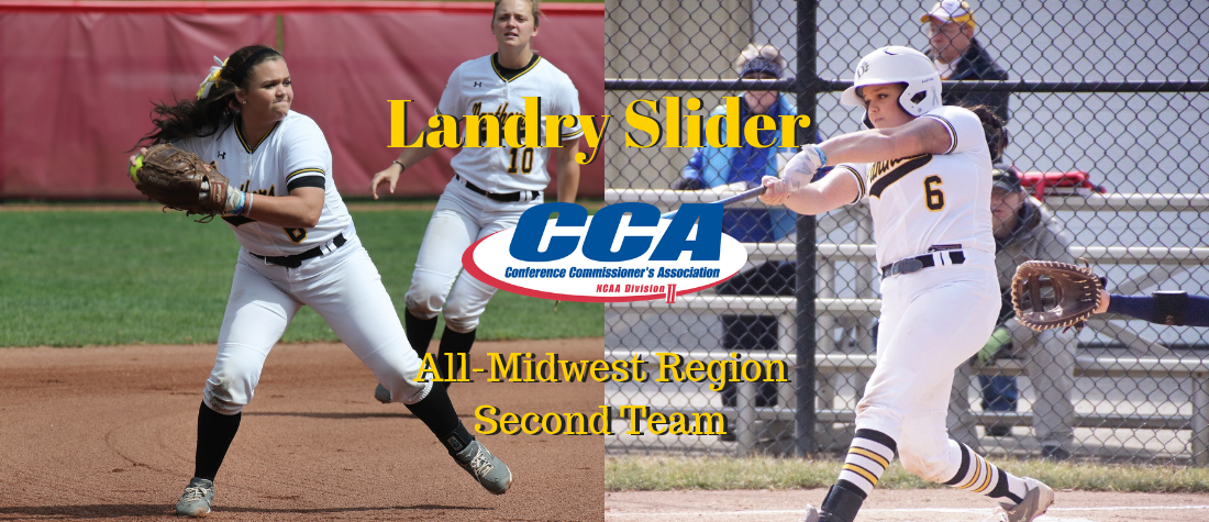 Slider Named to the CCA All-Midwest Region Second Team