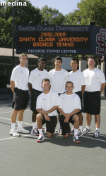 Men's Tennis Rained Out vs. UCSB