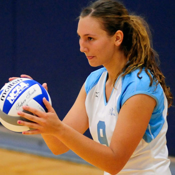 Kneifel Earns NEWMAC Volleyball Player of the Week Award