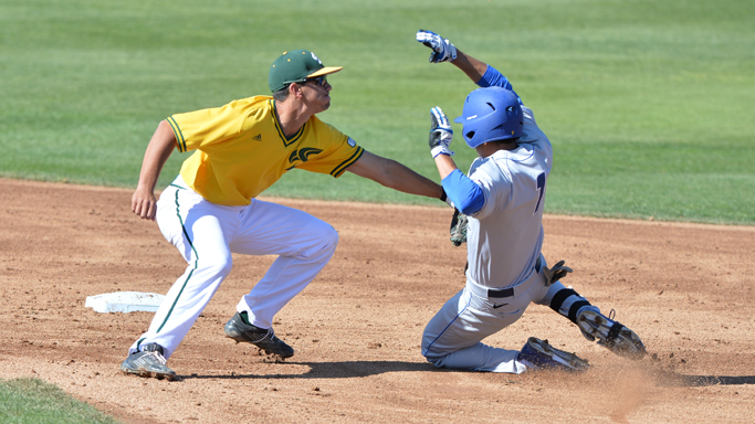BASEBALL OUTLASTED BY #18 UC SANTA BARBARA 2-0 IN SERIES OPENER