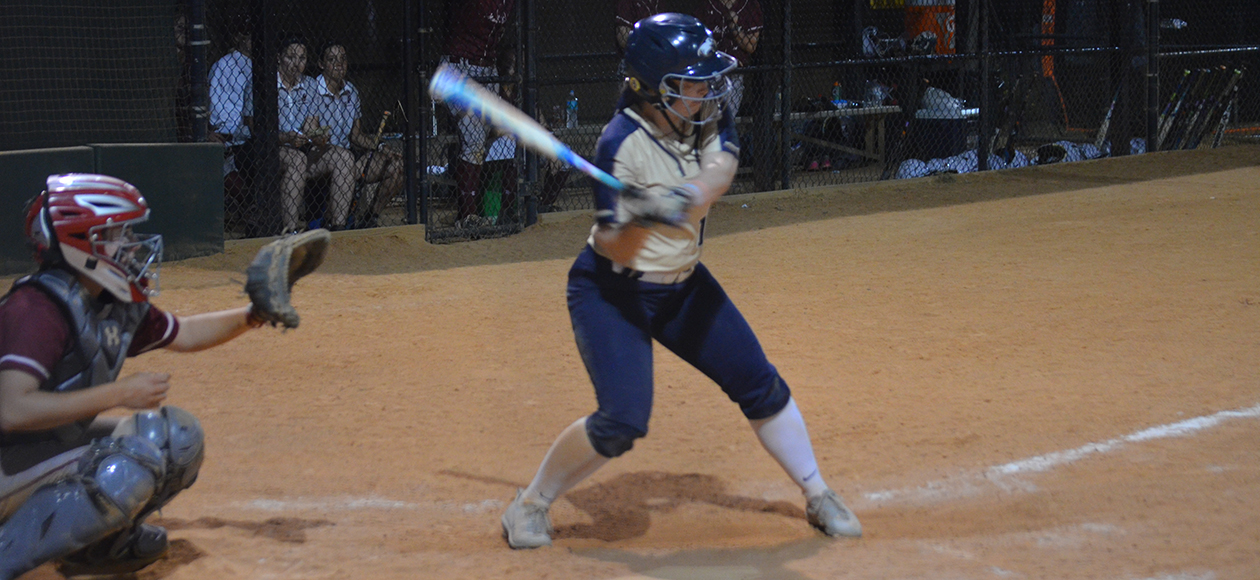 Abby Ebright was 3-for-6 with two runs scored and three runs batted in on the day.
