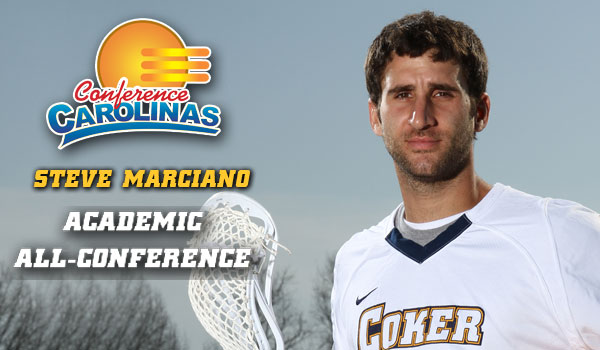 Marciano Earns Academic All-Conference Nod