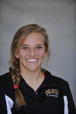 Alicia Krause now has 99 goals in her UMBC tenure.