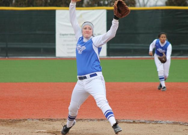 Softball Sweeps Day One at USF