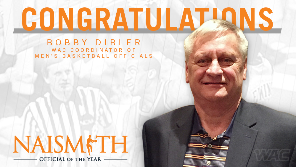 Bobby Dibler Named 2019 Naismith College Official of the Year