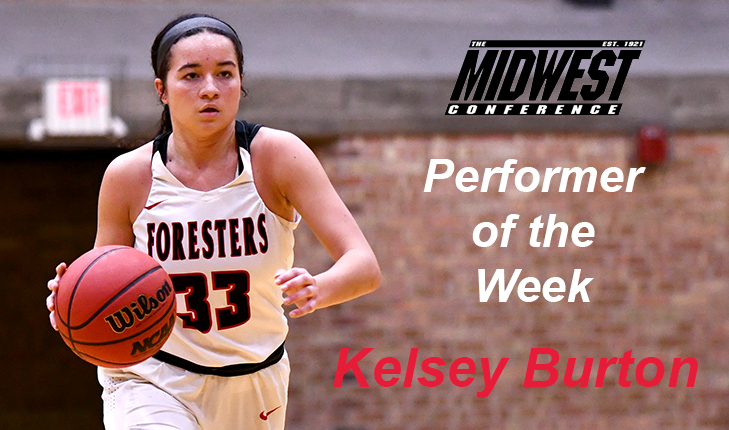 Kelsey Burton Earned MWC Performer of the Week Honors