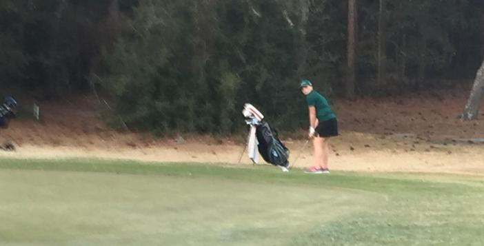 Lady Gator Golf Team Edged in Match at Okefenokee