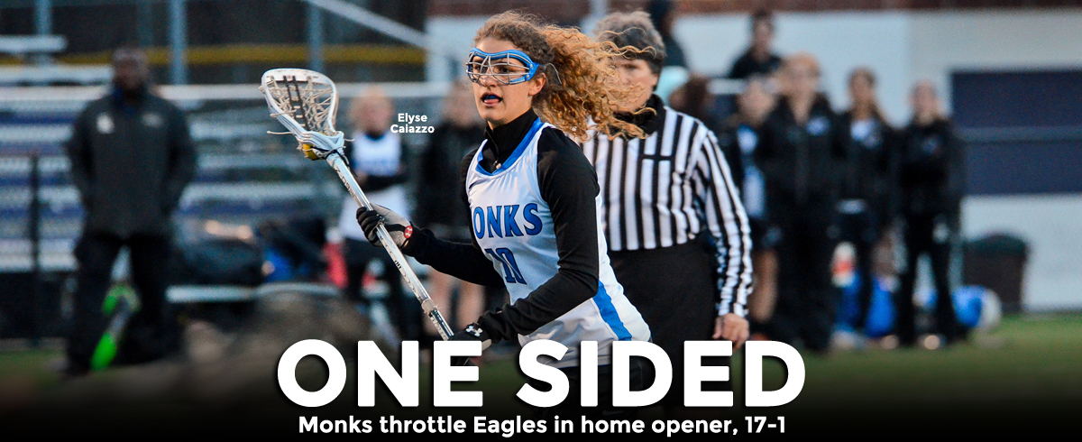 Monks Throttle Eagles in Home Opener, 17-1