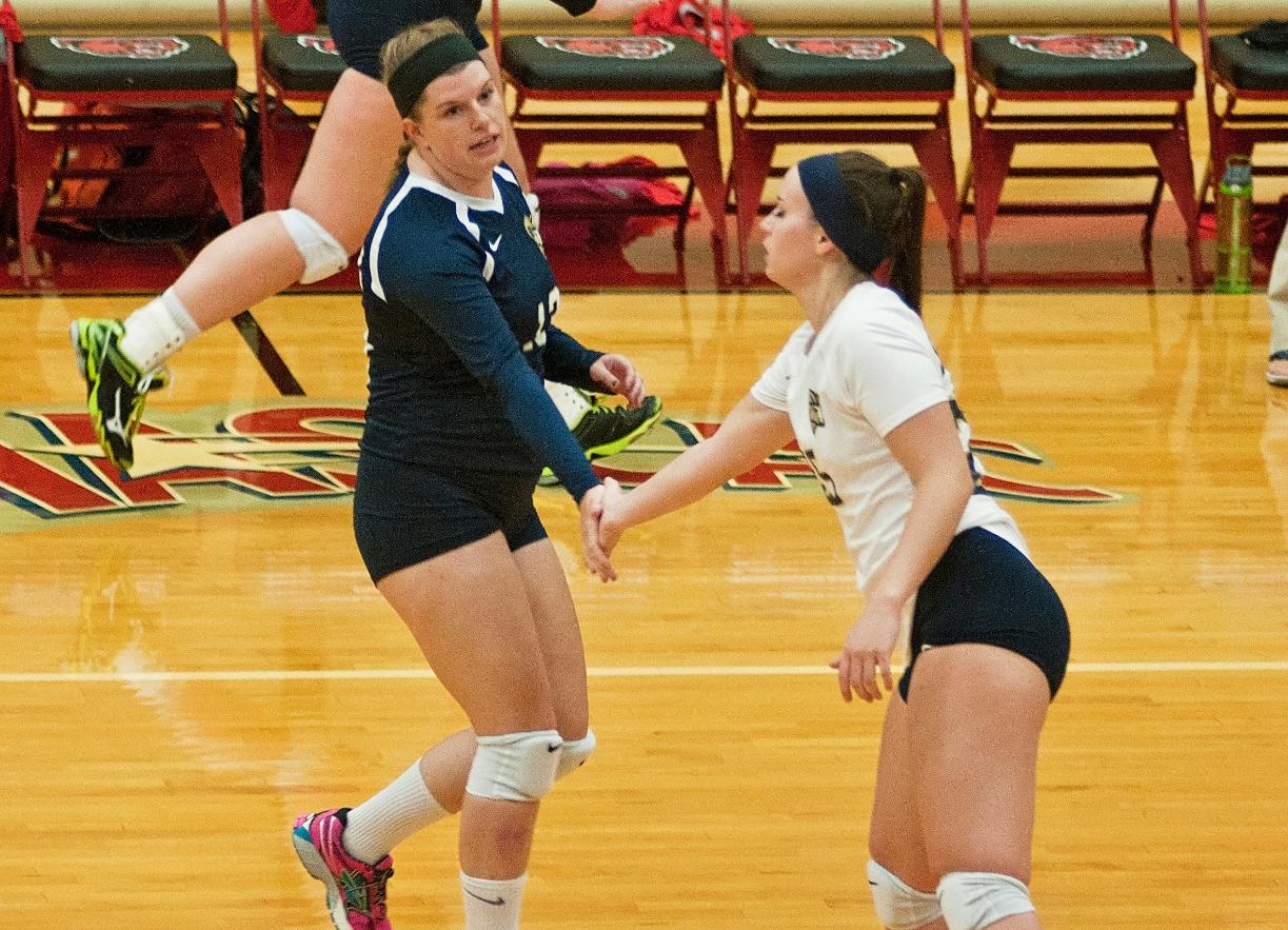 Volleyball Hosts Becker, Visits Simmons