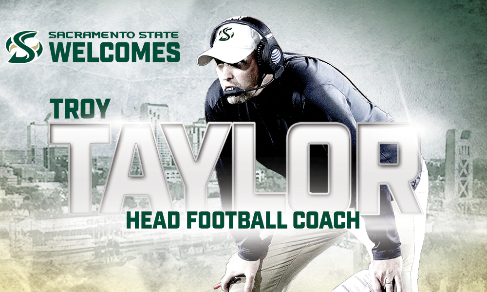 TROY TAYLOR NAMED HEAD FOOTBALL COACH