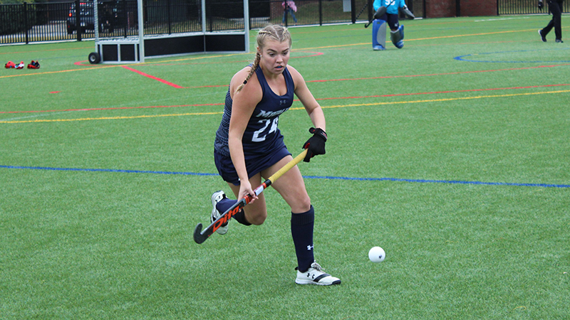 Late Goal Sinks Field Hockey on the Road