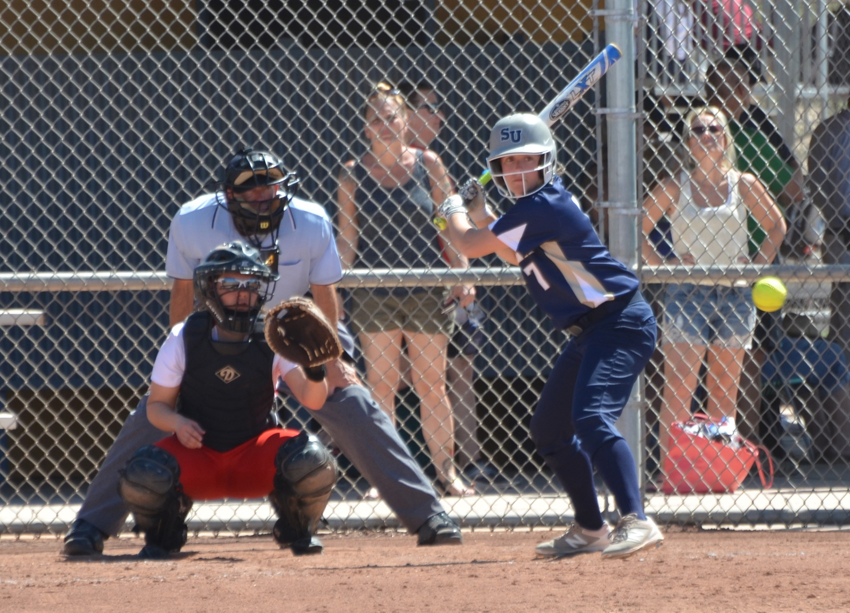 Softball Entertains Anna Maria, Finishes at USJ