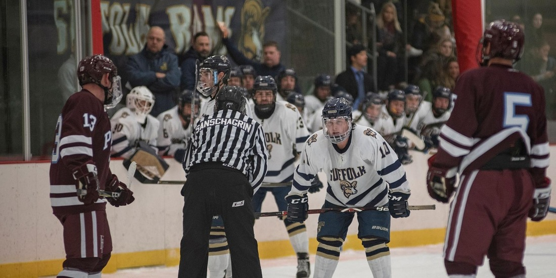 Men's Hockey Closes First Semester at Home vs. Hobart, Skidmore