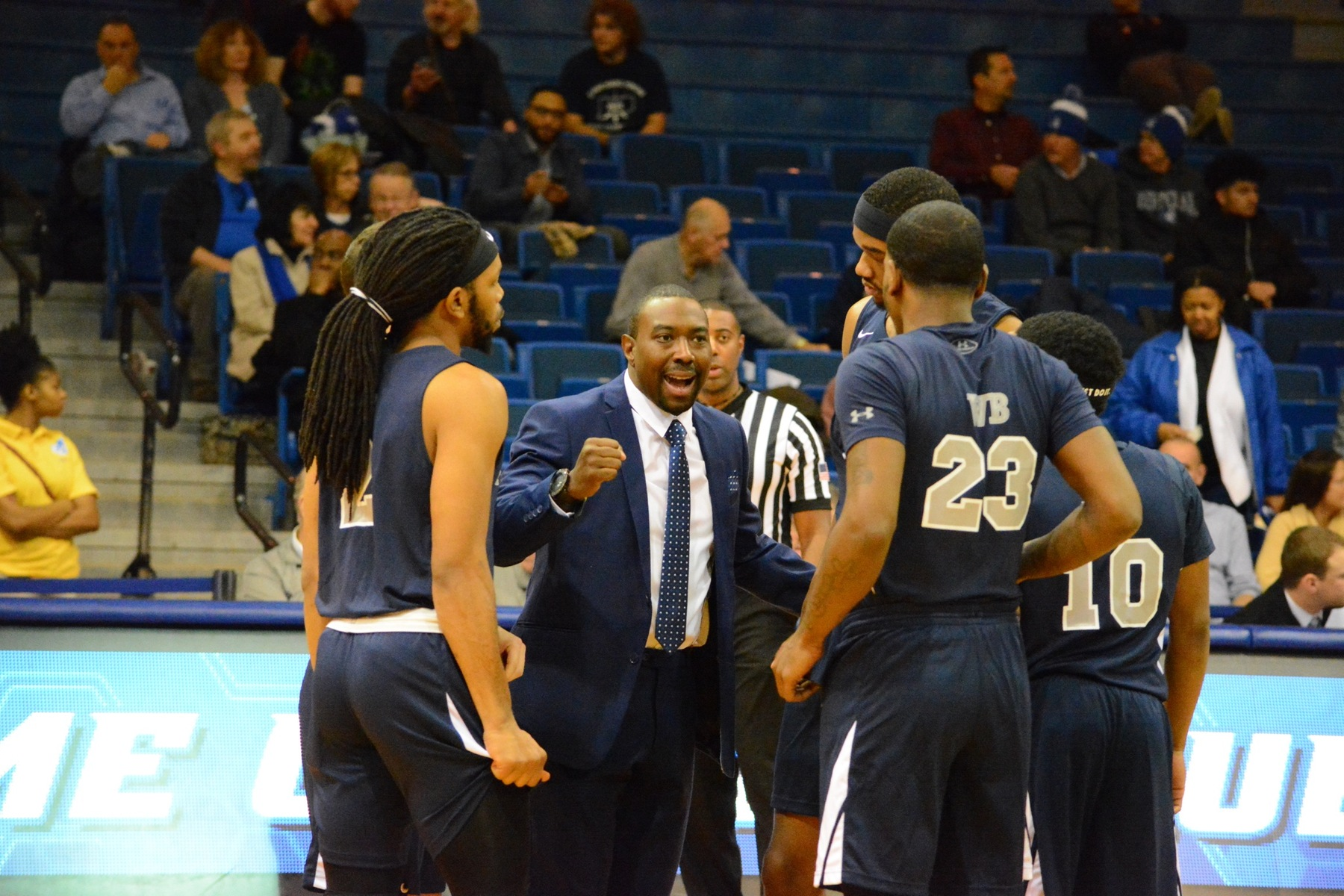 Men's Basketball Defeats Penn State Greater Allegheny
