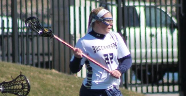 Hunt Nets Seven Goals As Women's Lacrosse Drops 16-11 Non-League Decision To Simmons