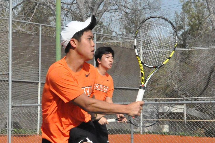 Men's Tennis Wins First Ever Nationally Ranked Match