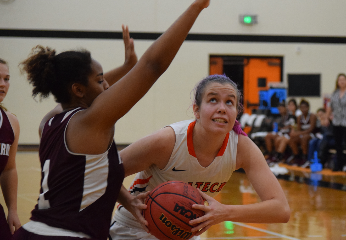 Lewis, Schemel Lead Women's Basketball to First Win of Season