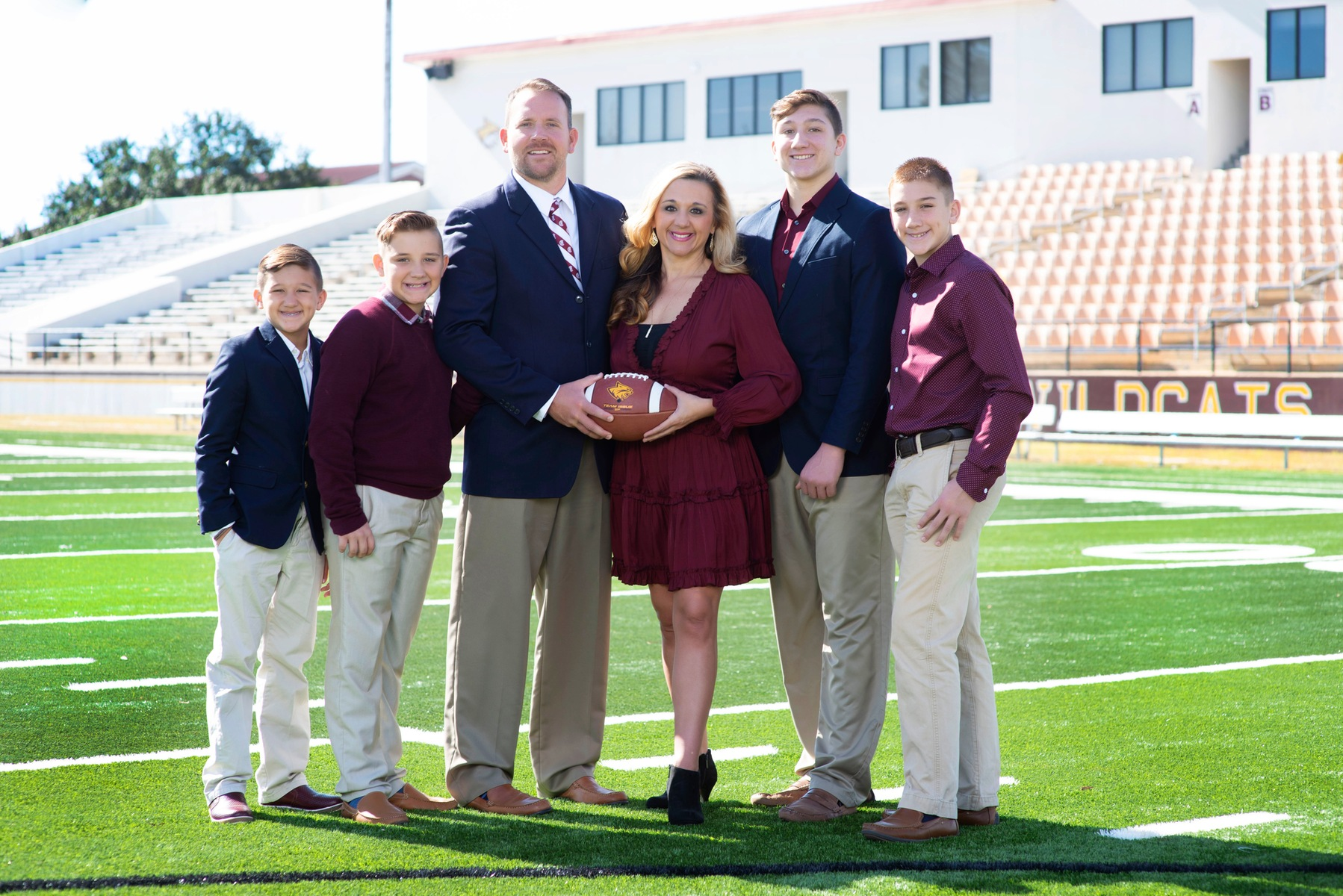 Pearl River announced on Thursday, Nov. 21, 2019, the hire of Seth Smith as the school's next football coach. (KRISTI HARRIS/PRCC ATHLETICS)