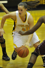 Michelle Kurowski recorded 24 points, seven assists and four steals against Toledo.