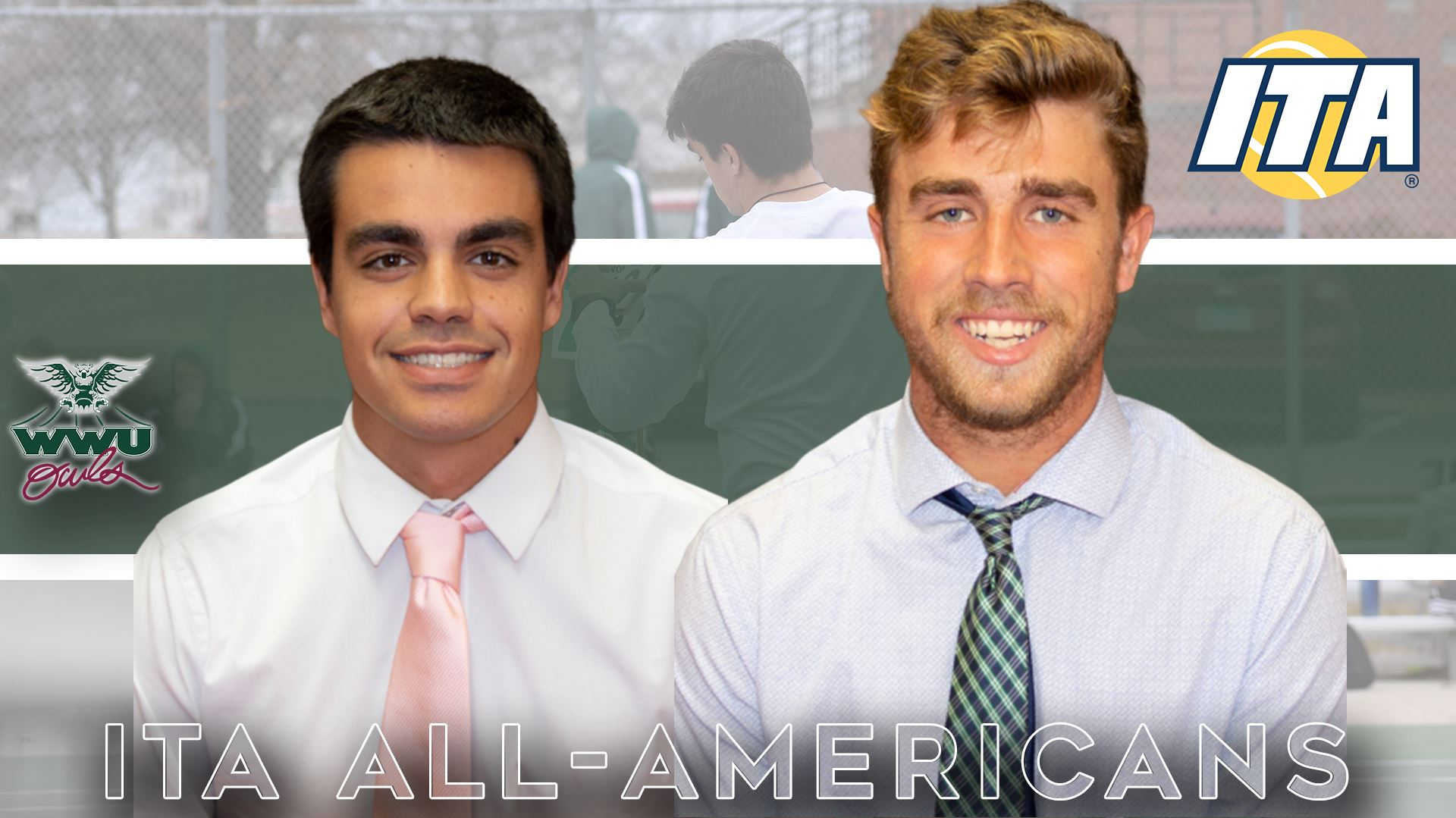 Former tennis star Javier Callejo named All-American again