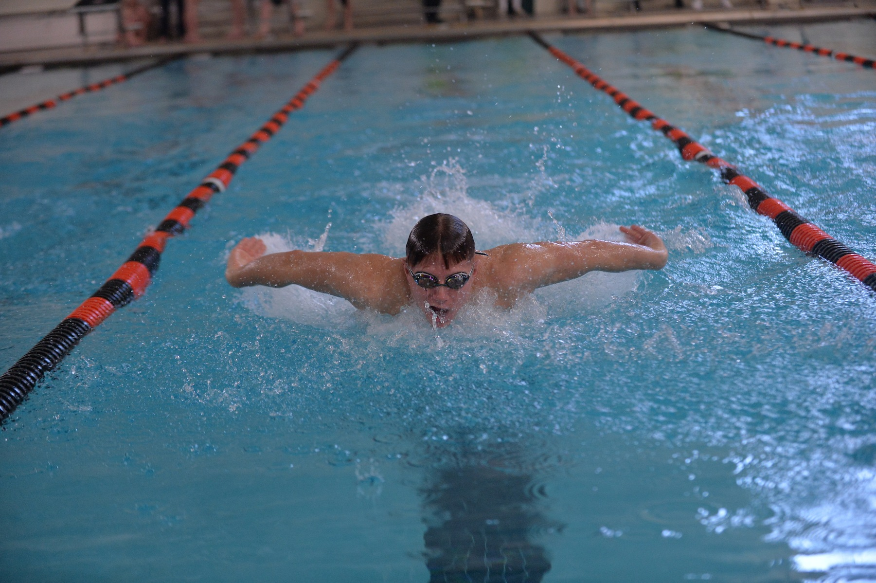 Mustangs Set Two School Records in Dual Meet Loss to Gallaudet