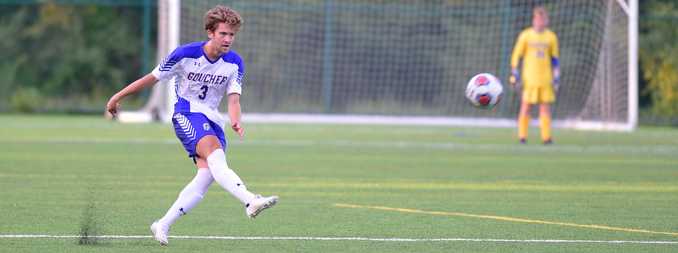 Goucher Men's Soccer Falls To Rosemont, 2-1