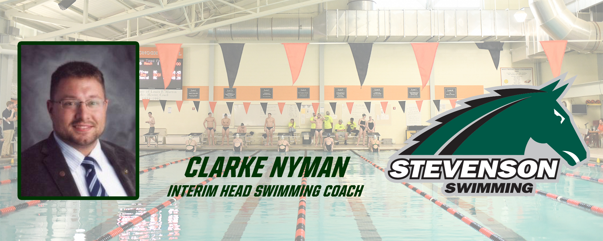 Clarke Nyman Named Interim Head Swimming Coach