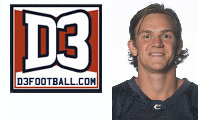Clint Larsen Named to Week Five D3football.com Team of the Week