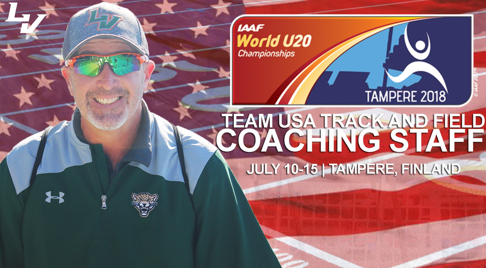 Reid Named to USATF coaching staff for IAAF U20 Championships