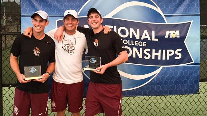 TU's Mayer and Skinner Win ITA National Small College Doubles Championship