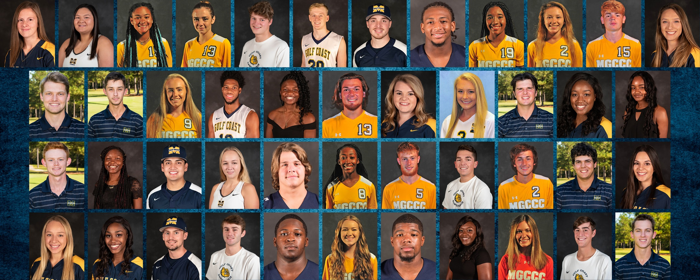 45 MGCCC student-athletes earn NJCAA academic awards