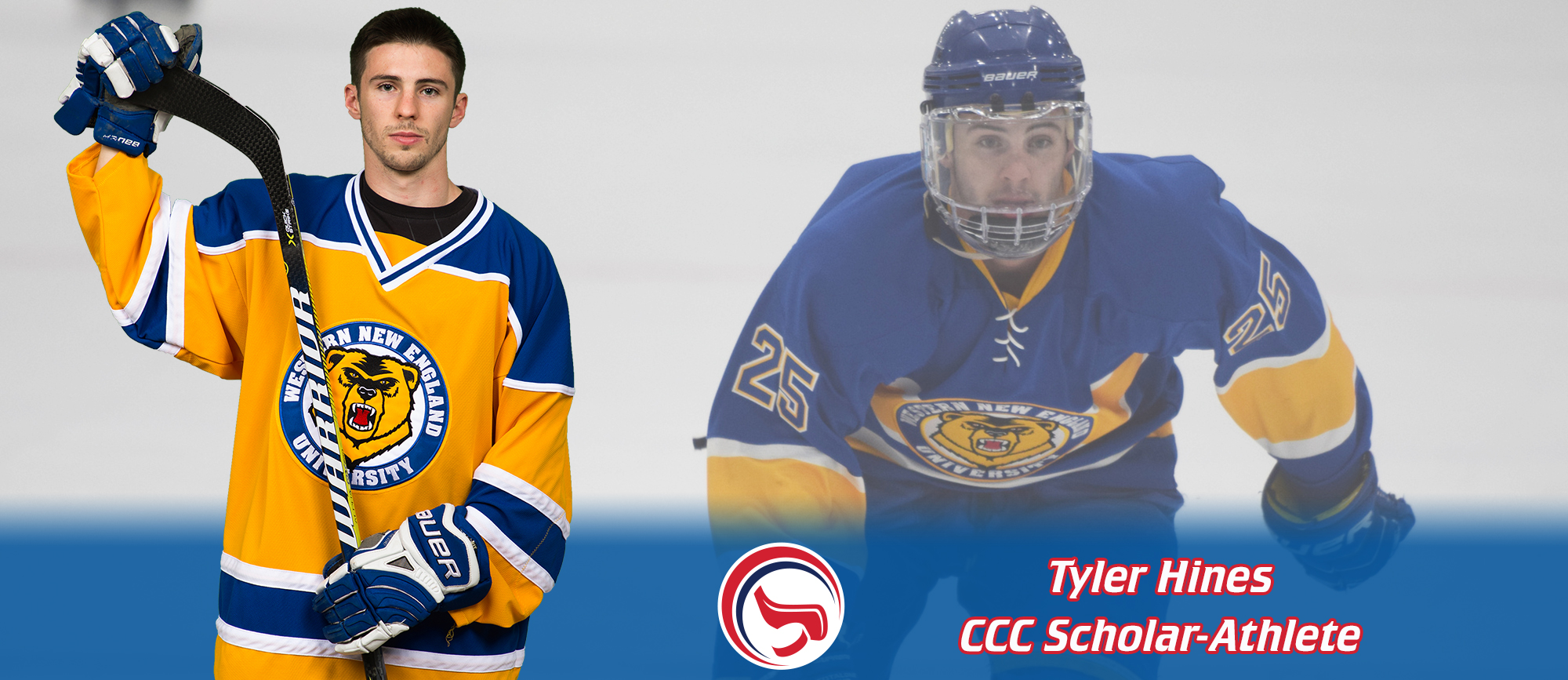 Tyler Hines Receives CCC Scholar-Athlete Recognition