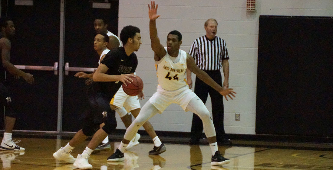 Men's Basketball Stifles Storm, Earns 65-53 Road Victory at Lake Erie