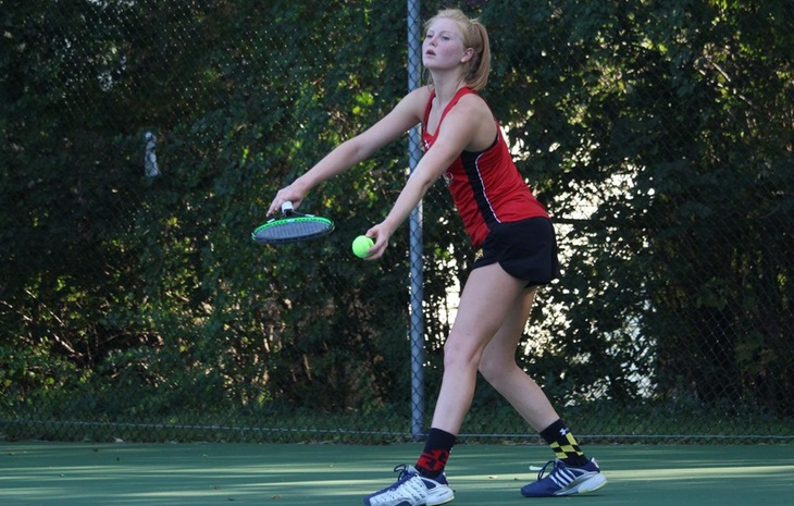 Women's Tennis Claims First-Ever Playoff Win, Bests Gordon in CCC Quarterfinals
