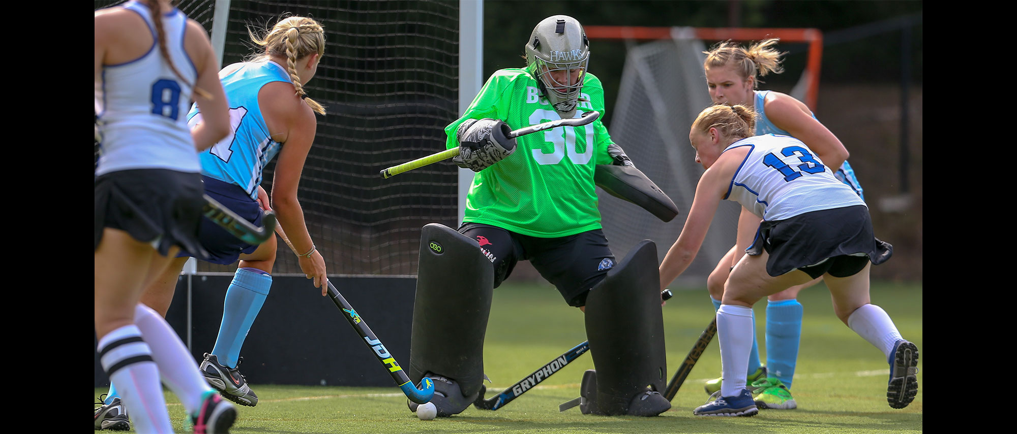 Lasers too much for Field Hockey in opener