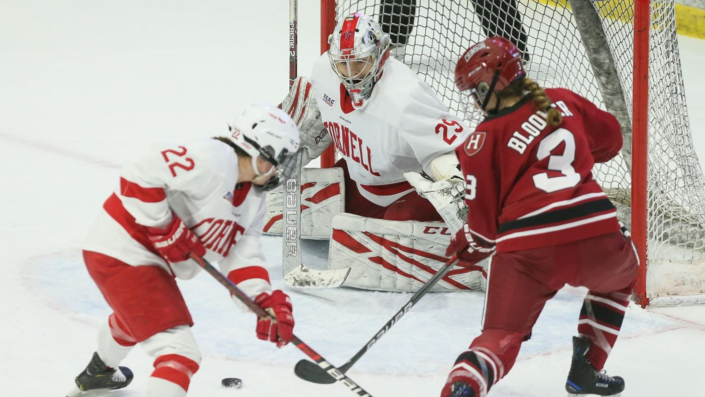 Cornell Trumps Harvard To Advance To ECAC Hockey Title Game