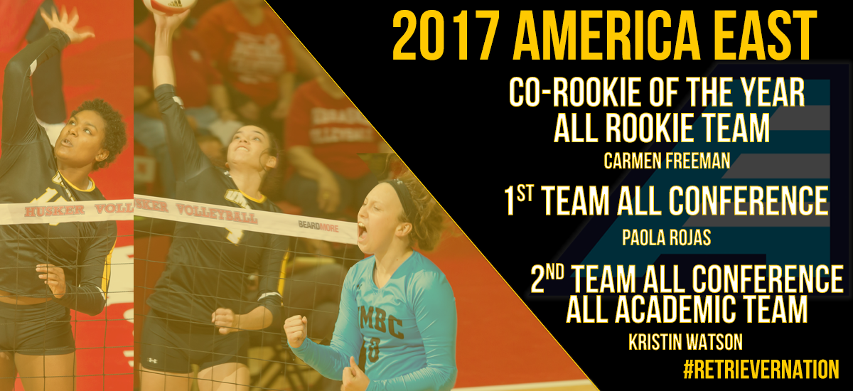 Freeman Named America East Co-Rookie of the Year; Rojas and Watson Named to All-Conference Teams