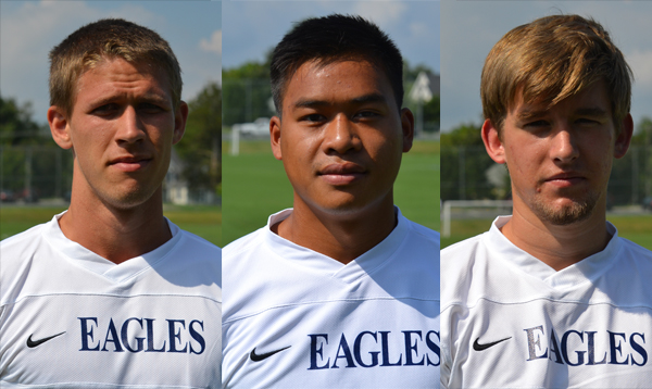 Heller, Sangbouasy, Fisher Named to All-CAC Men's Soccer Team