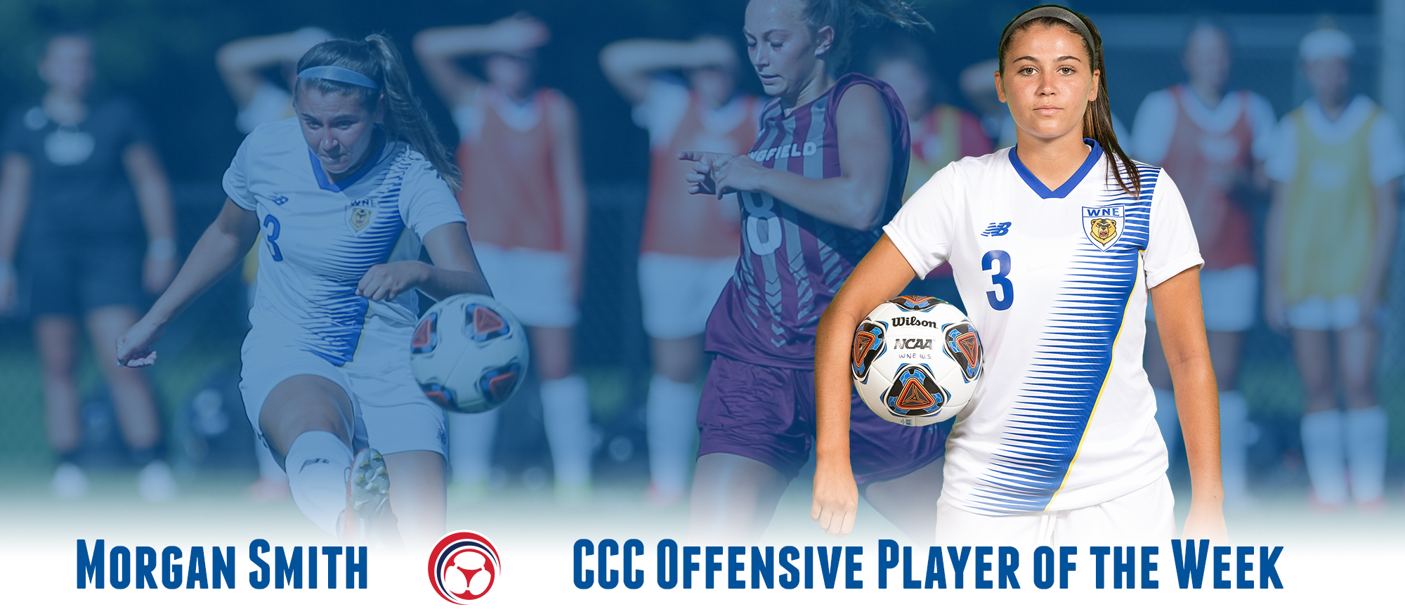 Morgan Smith Named CCC Offensive Player of the Week