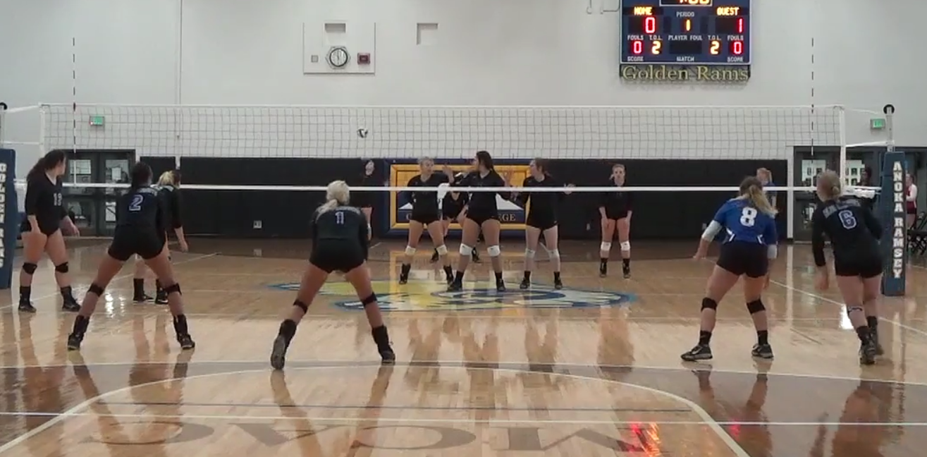 Blue Knights Volleyball Improved to 7-6 After Anoka and DCTC Quad Tournaments