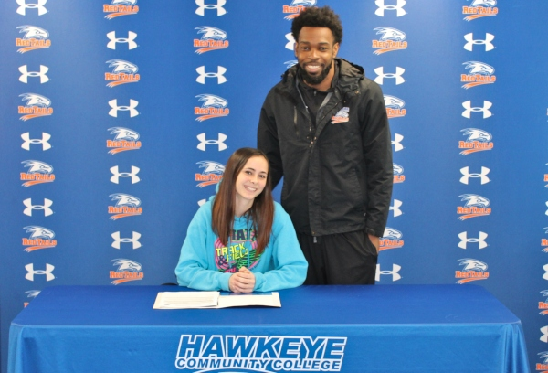 RedTail Track and Field Signs Jenna Hummell