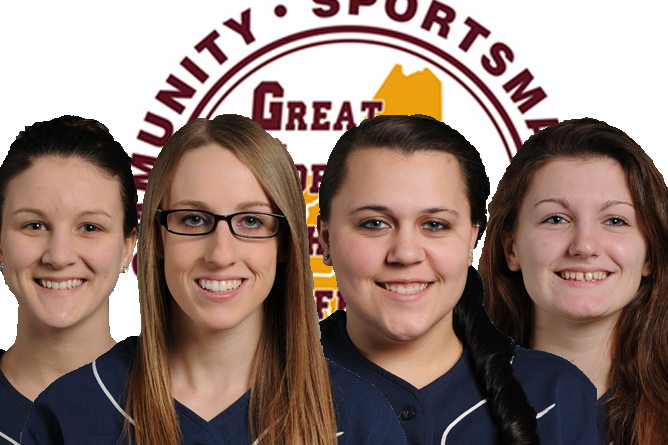 Softball sends four to GNAC All-Conference Teams