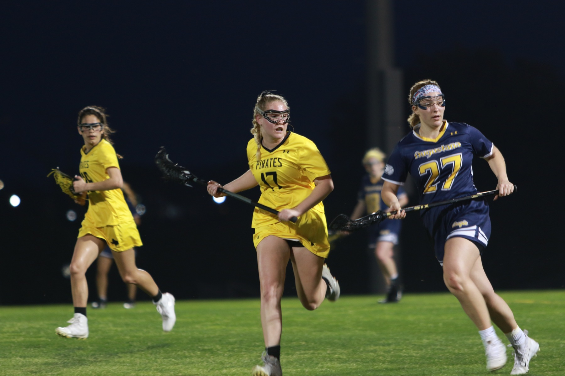 Women's Lacrosse Closes First Half on 9-2 Run to Defeat University of Dallas