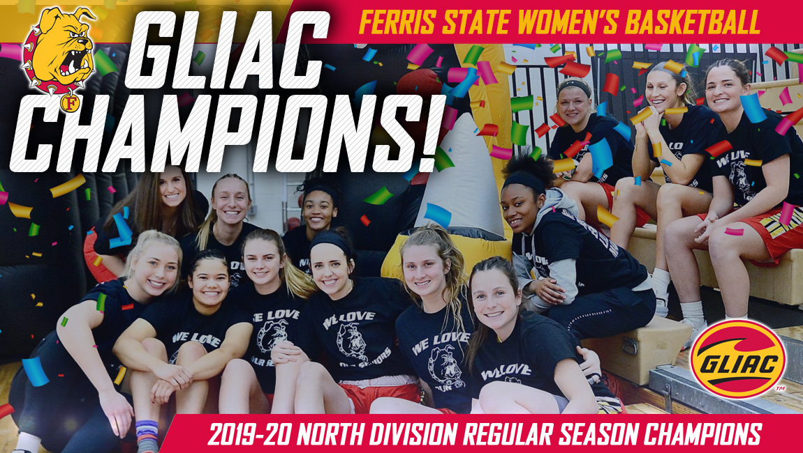 Bulldog Women's Basketball Claims Outright GLIAC North Division Title