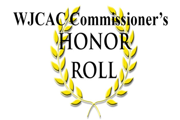 2017 WJCAC Commissioner's Honor Roll